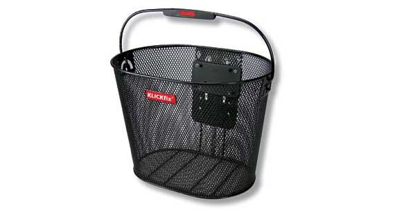 KlickFix Plus Bike Basket black